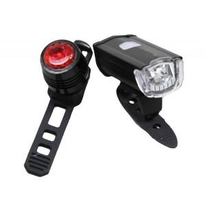 Lampa zestaw Azimut Square USB
