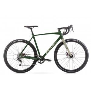 zielony-kremowy