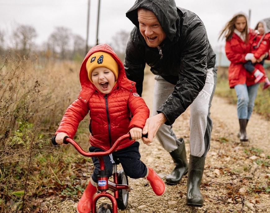 Jak wybrać pierwszy rower dla dziecka?